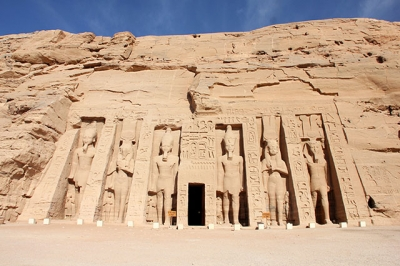 Flying to Abu Simbel